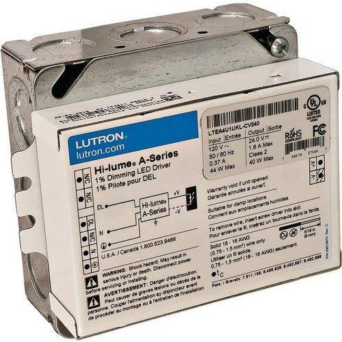 Hafele Loox 24v Lutron Direct Current Hardwired Dimmable Led Transformer 40w 833 05 905 Led Led Dimmer Led Cabinet Lighting