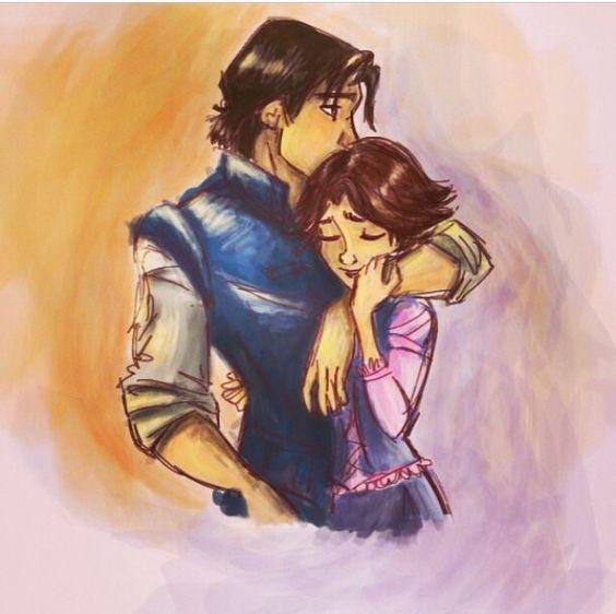 Flynn Rider And Rapunzel Fan Art Disney, Rapunzel and D...