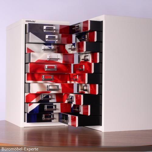 Cool Brittania - UK-Schrank. gesehen bei roomido.com