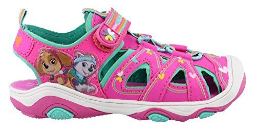 Paw Patrol Pink Sandal Sneakers Size 8