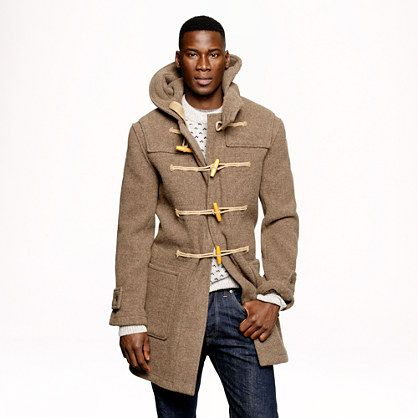 Coats Wool and Duffle coat on Pinterest