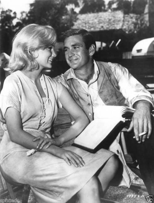"Yvette Mimieux & Rod Taylor in ""The Time Machine."""