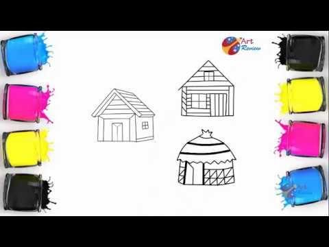 Shanty House Sketch Design Diagram Ll Shack Drawing Art Idea For Kids House Sketch Design Sketch Design House Sketch