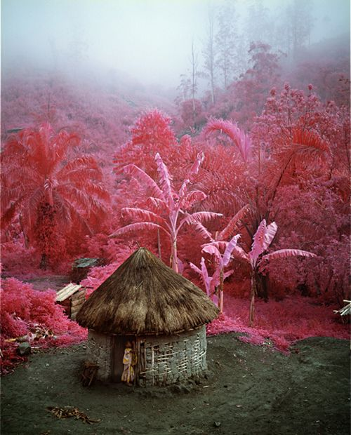 The Infra series: Come Out (1966)- ph.Richard Mosse, North Kivu, Eastern Congo, 2011