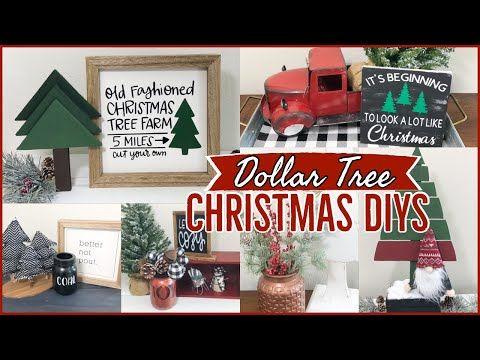 Christmas Craft Fair Ideas 2020 Youtube DIY DOLLAR TREE CHRISTMAS DECOR & IDEAS 2020   YouTube in 2020