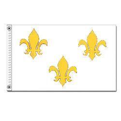 Fleur-de-Lis Flag, HFREN35W3