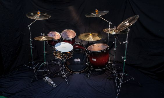 The Mapex Saturn kit in all its glory