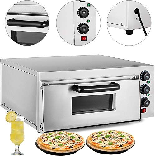 Best Seller Vevor Commercial Pizza Oven 2200w Stainless Steel