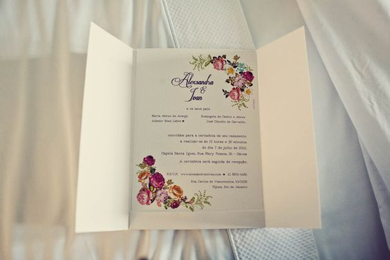 Convite de casamento / wedding invitation by Just Paper.