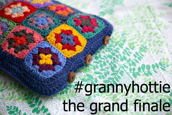 Foxs Lane: How to crochet a #grannyhottie - the grand finale