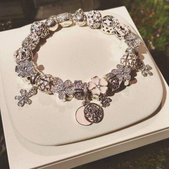 Pandora Spring 2016 Poetic Blooms | Pandora Ideas | Pinterest