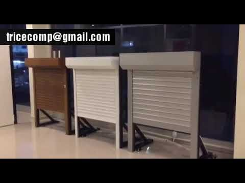 Automatic Rolling Shutter Manufacturer Youtube Aluminum Shutters Shutters Plastic Shutters