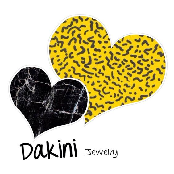 DAKINI is personal jewelry with an edgy-quirky-girly touch  Ships worldwide from Copenhagen, Denmark. www.dakini.nu