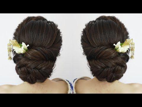 Easy Hair Gorgeous Wedding Hairstyles Updo Messy Curl Braids Tutorial Hairdo Bride Low Bun Hairstyles Easy Updo Hairstyles Simple Bridal Hairstyle