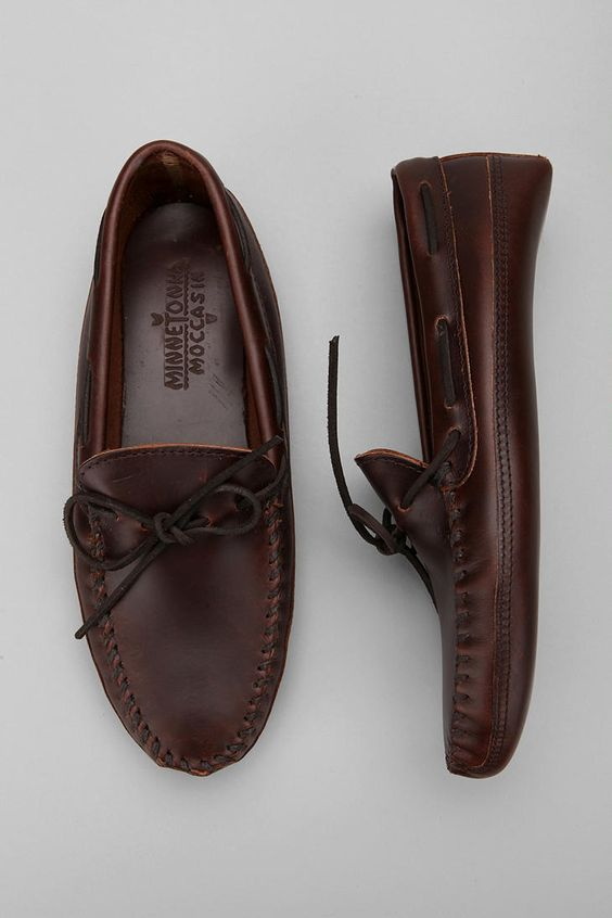 leather bottom moccasin