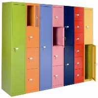 New colored Bisley Cabinets