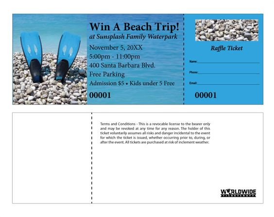 DIY Chinese Raffle Ticket Sheets have your image printed on the - numbering tickets in word