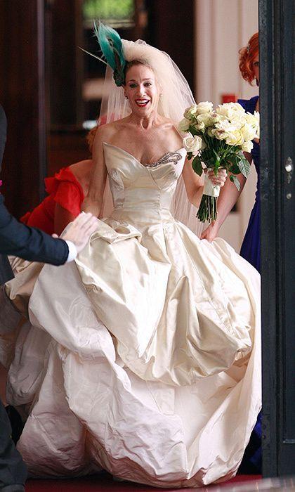 43+ Sarah jessica parker wedding dress ideas