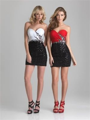 Mini Short Sweetheart 2013 Prom Dresses