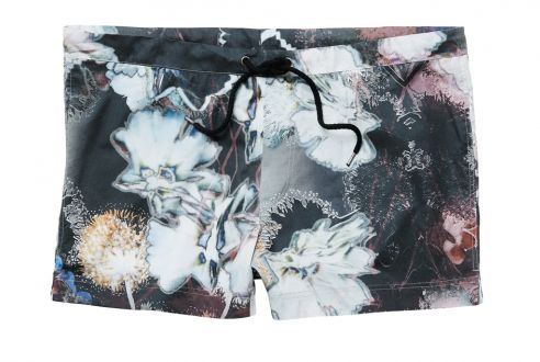 H graphic shorts