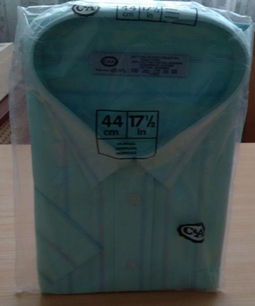 Kurzarm Hemd Herren von C&A Größe 44 € 5