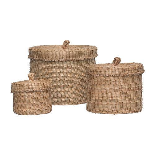 little storage baskets