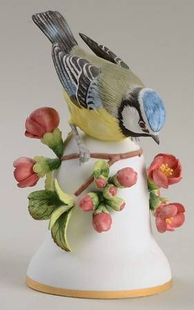 Franklin Mint Bird Bells-Porcelain at Replacements, Ltd