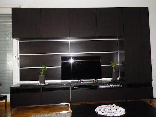 Sale Ikea Besta Entertainment Shelf Unit Geneva 4 Livingroom 7 JPG Views 65 Size 421 KB ID 41313