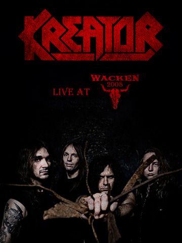 Kreator Live at Wacken 2008 - On Qello