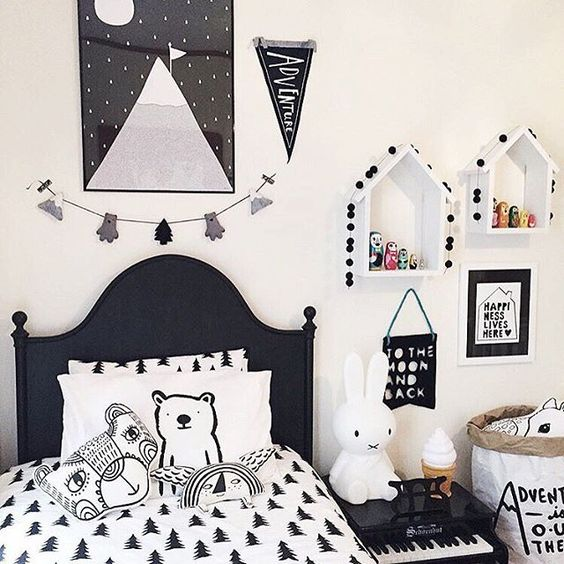 Monochromatic Room: Monochromatic Room, Kids Rooms And Big Boy Rooms On Pinterest