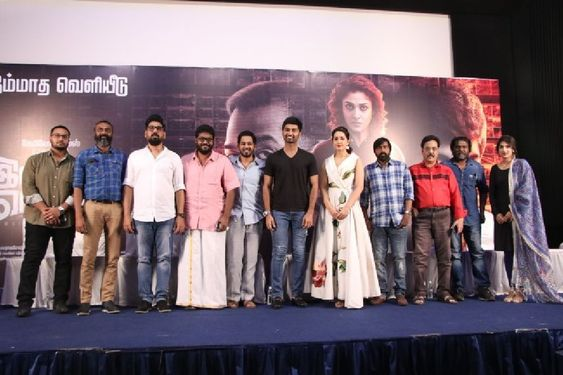 Atharvaa At Imaikkaa Nodigal Movie Press Meet
