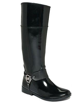 MICHAEL Michael Kors Fulton Harness Rain Boots - MICHAEL Michael Kors - Shoes - Macy's