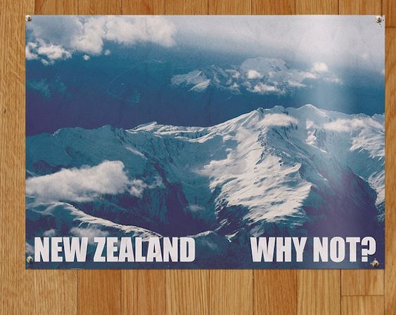 CAMPAIGN: Designed by Flight of the Conchords' Murray, these posters are awesome. Why not?