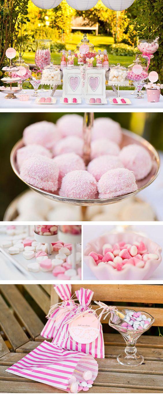 Trendige Sweet Tables von mycandybar