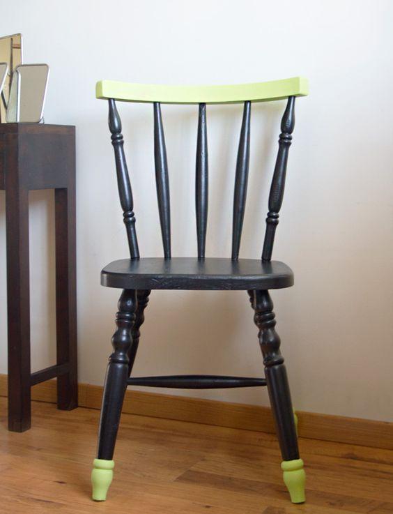 restauration et relooking dune chaise de cuisine - Chaise De Cuisine Retro