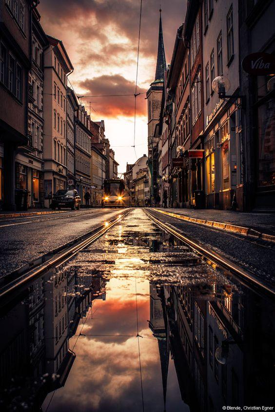 © Blende, Christian Egner, Abendliches Wetterschauspiel