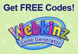 webkinz codes