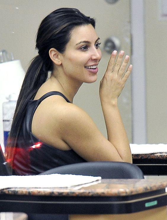 17 Best images about Kim Kardashian No Makeup   Kim ...