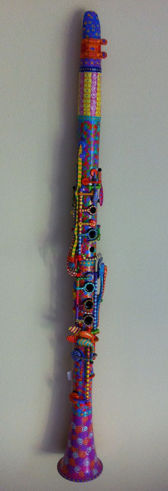 Ok I would never do this to my clarinet, but thats pretty awesome haha