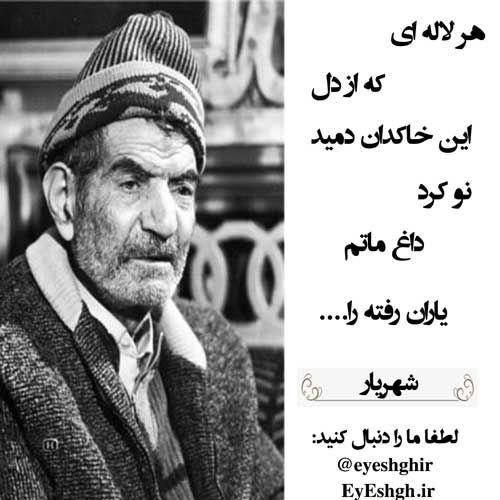 هر لاله ای که از دل این خاکدان دمید Persian Quotes Persian Poem Poems