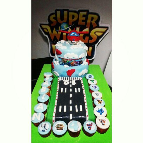 Torta De Super Wings Torta De Cumplea Os Pinterest Alas
