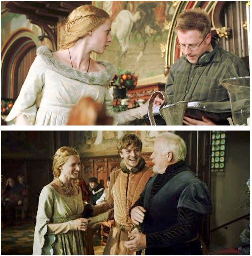 The white queen behind the scenes