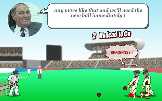 Prepara tus mejores tiros para derribar a los zombies!  http://mundobanana.com/Ashes-2-ashes-zombie-cricket-10004346.html