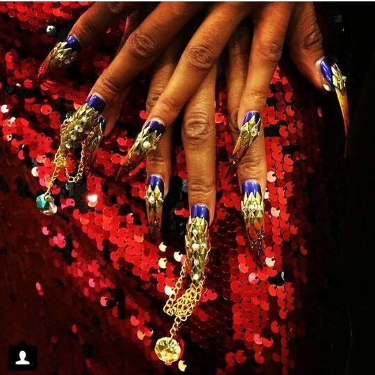 Very wow....nail art.