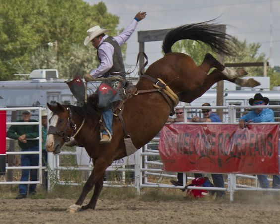 The Nebraska State Rodeo Association State Finals Are Held
