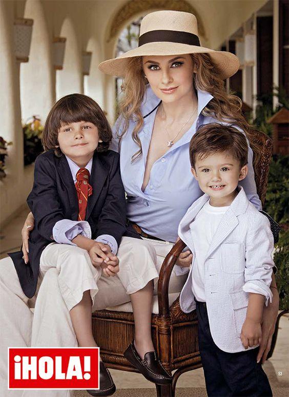 Aracely Armbula Daniel Basteri daniel , el hijo menor de luis miguel y ...