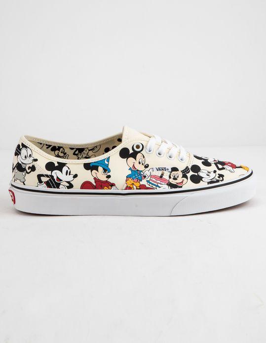 Disney vans, Mickey shoes