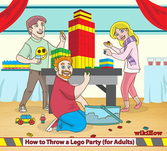 wikiHow to throw an adult lego party
