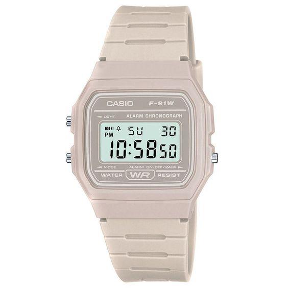 Casio Watches - Casio Retro Casual Watch - White