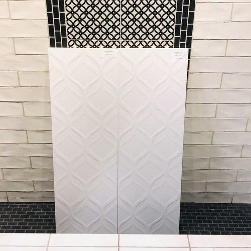 Lux White Decor 12x36 Tiles 12x36 Decor Lux Tiles White Decorative Wall Tiles White Decor Flooring Store